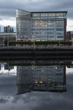 A modern building in Glasgow Stock Images