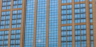 Modern building glass. Modern building with blue glass background Stock Image