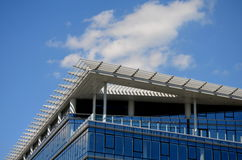 Modern building in glass Royalty Free Stock Images