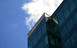 Modern building in glass Stock Image