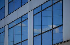 Modern building in glass Stock Photography