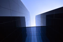 Modern building in glass Royalty Free Stock Photography