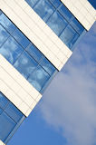 Modern building. Modern glass building and blue sky Stock Photography