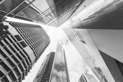 Modern building. Modern glass building in Brisbane city Stock Image