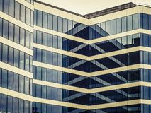 a modern building with a glass facade royalty free stock photo