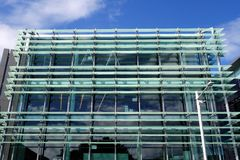 Free Modern Building Glass Facade Stock Photography - 69129542