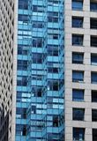 Modern building with glass facade Stock Images