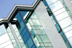 Modern building glass facade. Detail Royalty Free Stock Photo