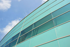 Modern Building With Glass Panels Royalty Free Stock Image