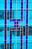 Modern building glass. With reflection Royalty Free Stock Photography
