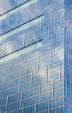 Modern building glass. With reflection Royalty Free Stock Photo