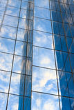 Modern building glass. With reflection Stock Photos
