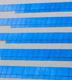 Modern building glass. Texture, background Royalty Free Stock Images