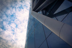 Modern building glass wall Royalty Free Stock Image