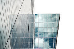 Modern building. Glass windows in building, image of architecture Stock Photography