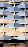 Modern building graphic detail Royalty Free Stock Image