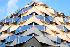 Modern building graphic detail Stock Photography
