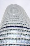 Modern building graphic detail Royalty Free Stock Images