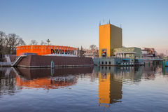 Modern building of the Groningen museum. With exhibition dedicated to David Bowie Stock Photo