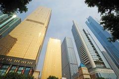 Modern building in guangzhou Royalty Free Stock Photo