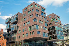 Modern building in the Hafencity Royalty Free Stock Photo
