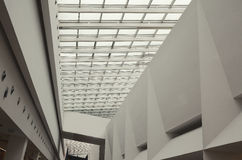 Modern Building Hall And Roof Stock Images