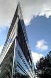 Modern building in Hamburg, Germany royalty free stock image