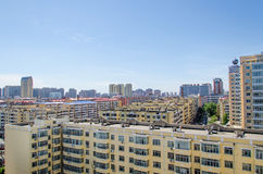 Modern building in harbin city Stock Images