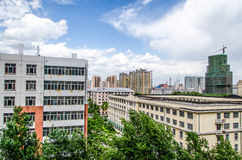 Modern building in harbin city Stock Photography