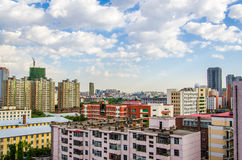 Modern building in harbin city Stock Image