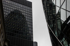 Modern building in the hearth of London City Stock Photos