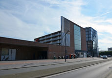 Modern building in Hengelo, Holland Royalty Free Stock Image
