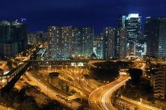 Modern Building in Hong Kong Royalty Free Stock Photos