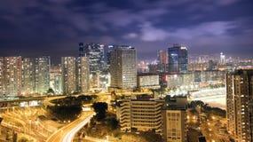 Modern Building in Hong Kong Stock Image