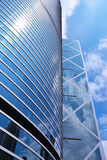 Modern building in Hong Kong Royalty Free Stock Photography