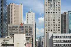 Modern building in Hong Kong Royalty Free Stock Images