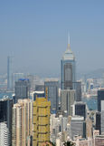 Modern building in hongkong Stock Photography