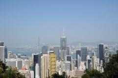 Modern building in hongkong Royalty Free Stock Image