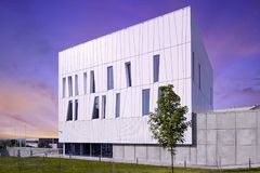 Modern building in Hungary, Pecs Royalty Free Stock Photo