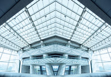 Modern building interior Stock Photos