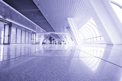 Modern building interior Stock Photography