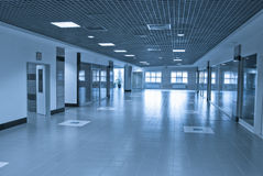 Modern building interior Stock Images