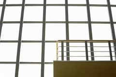 Modern building interior low angle view. Stock Photography