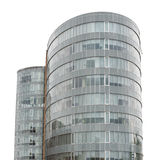 Modern building isolated Royalty Free Stock Images