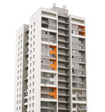 Modern building isolated Stock Image