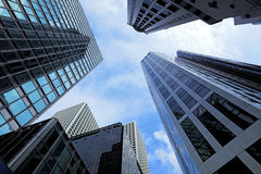 Modern building Landscape in Hong Kong Royalty Free Stock Photos
