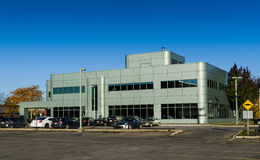 Modern building Laval Royalty Free Stock Photos