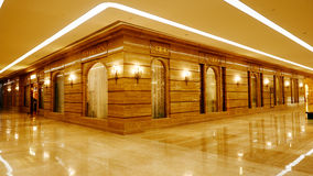 Modern building hall lobby  corridor Stock Photo