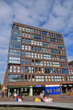 Modern building in Lelystadt, Holland Stock Photography