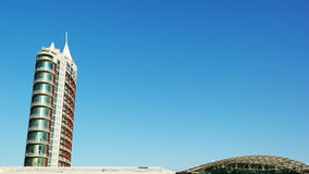 Modern building, Lisbon, Portugal Stock Photos